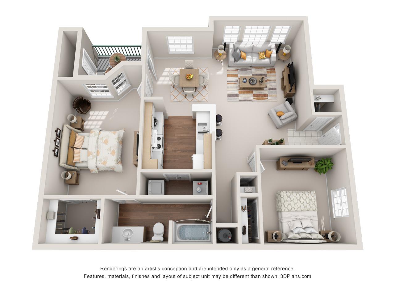 Lawrence Kansas Apartment Floor Plans Pinnacle Apartments